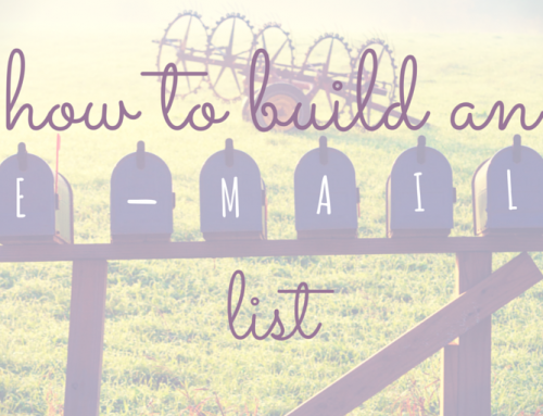 List Building 101: 4 Easy To Follow Tips On Building Your Email List For Your Book