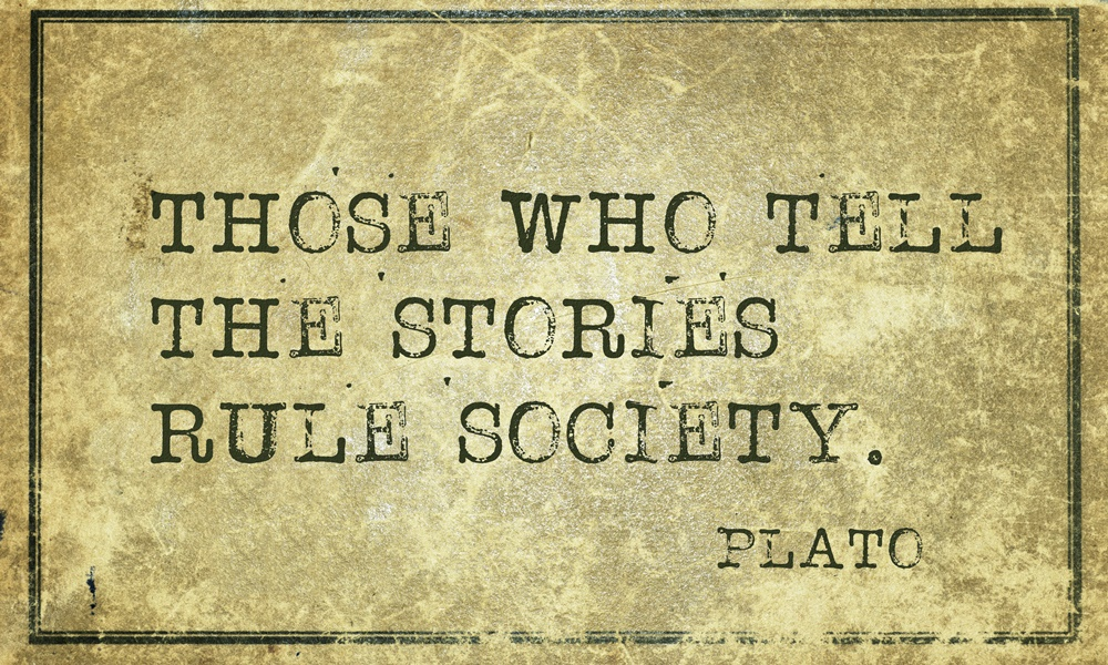 Plato Storytellers Rule Society