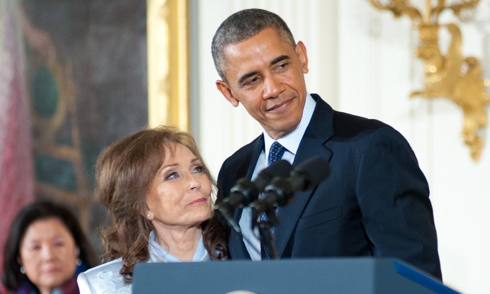 Loretta Lynn Obama