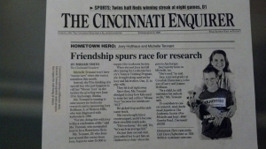 Michelle Tennant in Cincinnati Enquirer (2)