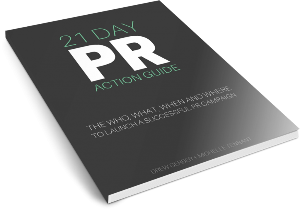 WASABI PUBLICITY 21 DAY PR ACTION GUIDE