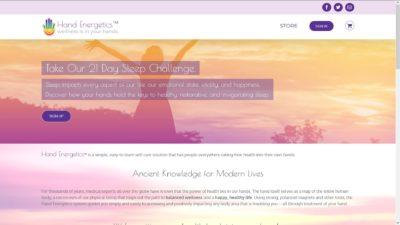 website design example